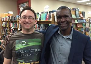 Resurrection Revealed host, Troy Heinritz, and author Jason Mott.